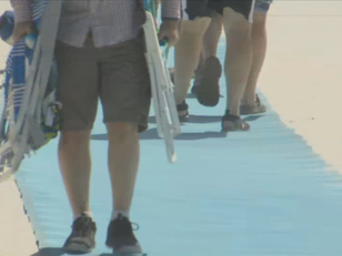 Residents fighting for accessibility mats on Orange Beach beaches
