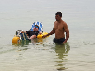 Waterwheels project gives disabled bodies easier access to Seychelles' seas