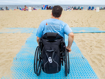 N.J. beach will be accessible for everyone thanks to Christopher Reeve's foundation