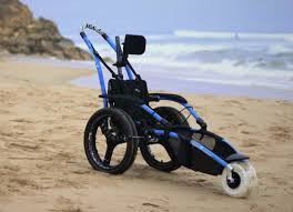 HIPPOCAMPE® wheelchair for use on sand and beach