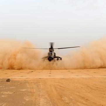 Ultra-Compact, High visibility landing mat