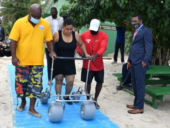 USVI Bringing Greater Accessibility to Its Beaches