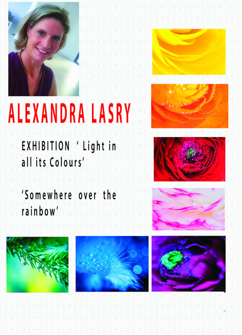 "ALEXANDRA LASRY : ""Light in all its colours"""