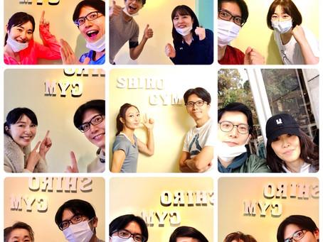 4月START!! 良い変化がSHIROGYMカウンセリングご紹介