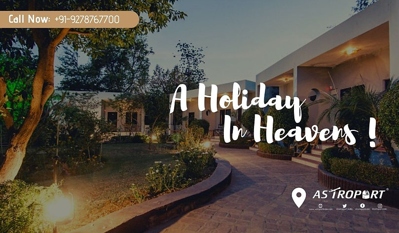 Holiday in heavens Astroport Ranthambore