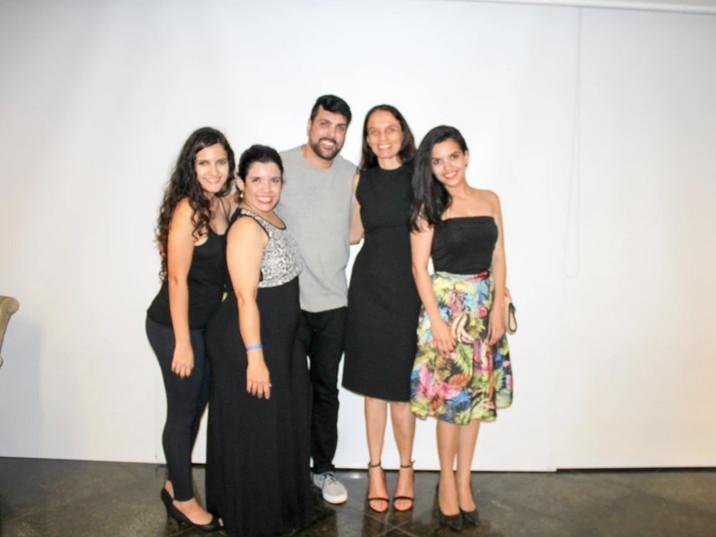 Equipe Mistic e Liliana Gomes