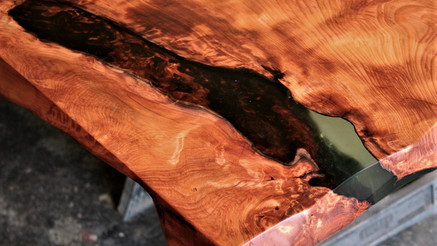 Old Growth redwood Table