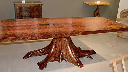 Old-Growth Redwood Table