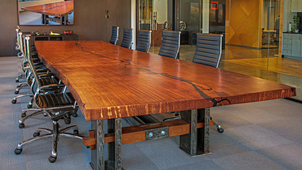 Modern Industrial Conference Table
