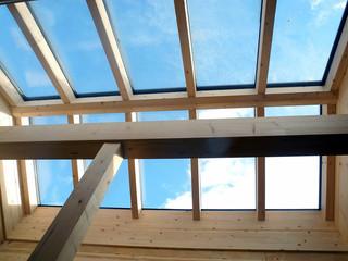 Dachfenster Holzhaus - Zimmerei Wolfgang Deml