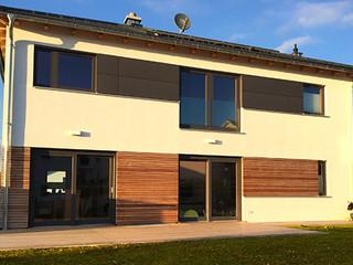 Holzhaus im Holzrahmenbau - Zimmerei Wolfgang Deml
