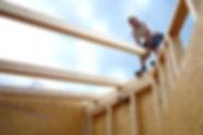 Abbundarbeiten für Dachstuhl - Zimmerei Wolfgang Deml