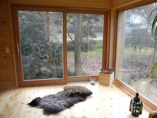 Fenster Massivholzhaus - Zimmerei Wolfgang Deml