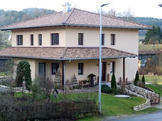 Holzhaus in Holzständerbauweise - Zimmerei Wolfgang Deml