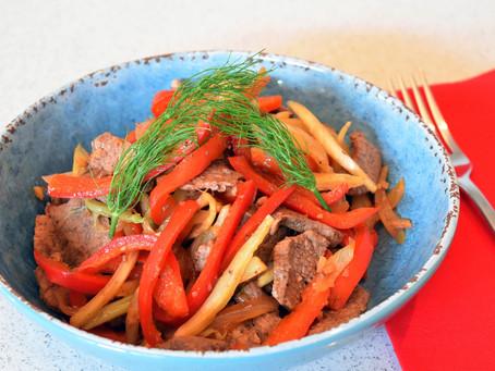 Winter - Warming Beef and Fennel Stir-Fry