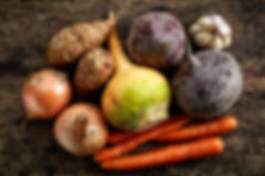 winter seasonal foods onions root vegetables