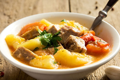 winter seasonal foods warming stew