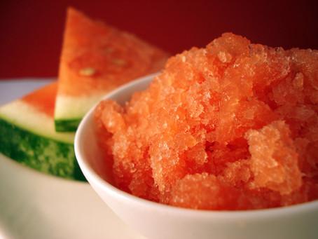 Beat the Summer Heat with Watermelon Granita