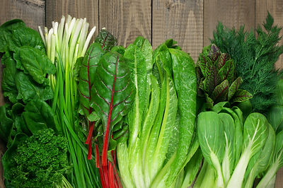 spring seasonal foods leafy greens