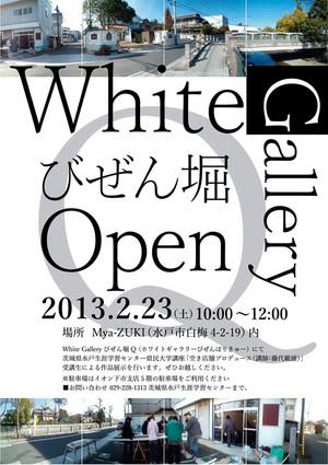 White Gallery びぜん堀 Q オープニングイベント