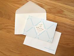 日立市・テセラ | 挨拶状・封筒