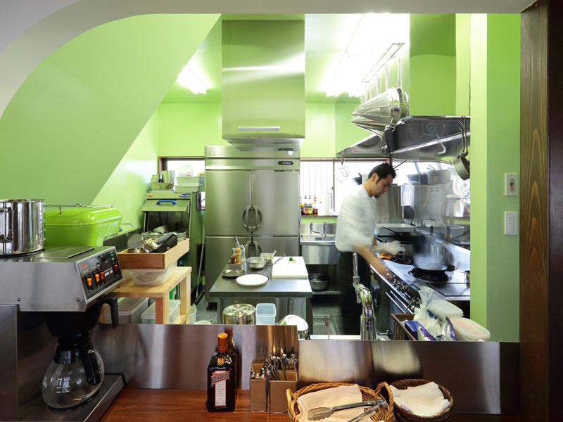 グルメ・ド・タカ | 厨房