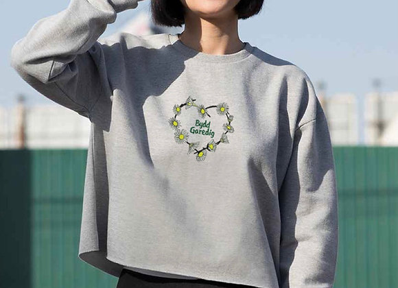 Bydd Garedig crop sweatshirt