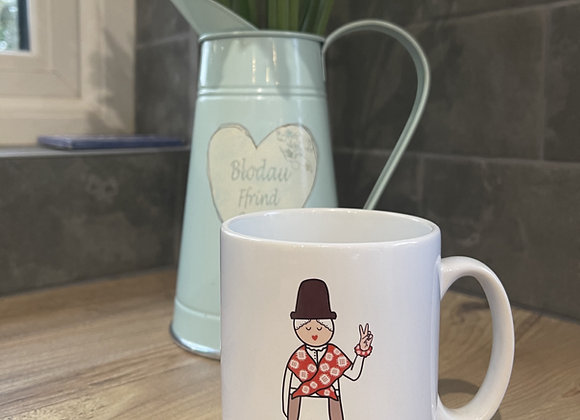 Mugs Merched Cymreig