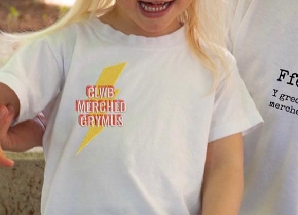 Clwb Merched Grymus Tshirt - plant