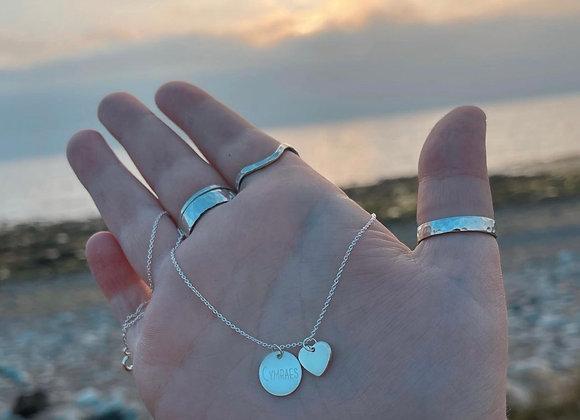 Sterling Silver Cymraes Necklace