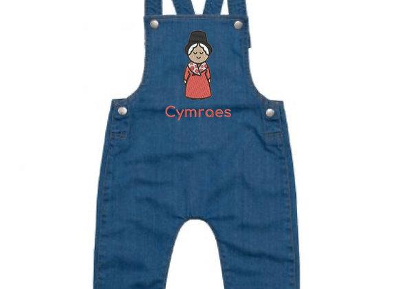 Dungarees Cymro / Cymraes