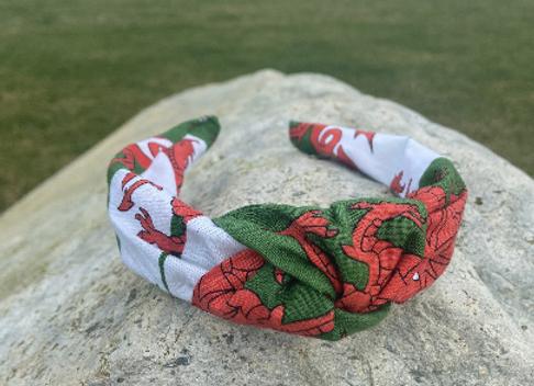 Knotted Headband Cymru