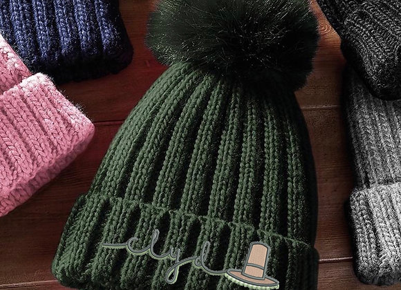 Adults Clyd PomPom Hat