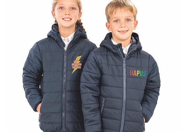 Childrens padded coat