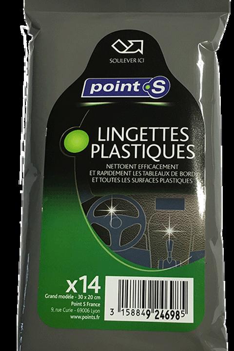 Lingettes plastiques (14 pièces)