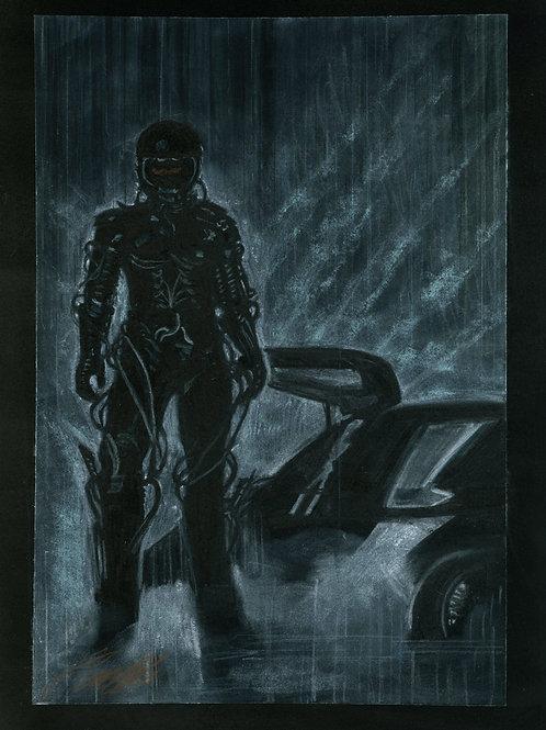 """""""The Wraith"""" art print"""
