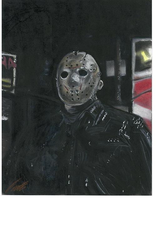"""""""Jason"""" art print"""