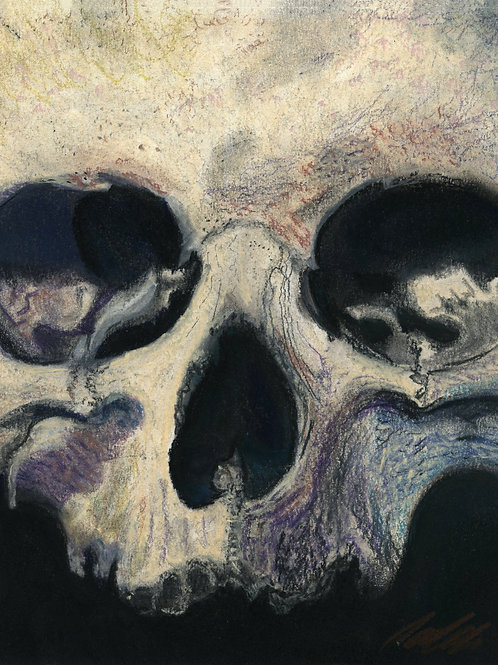 """mortality"" art print"