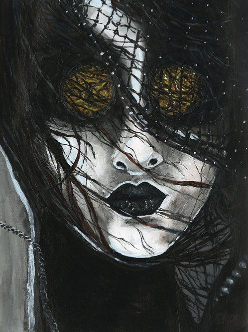 """Cadavre equis"" art print"