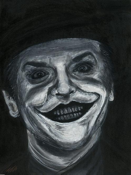 """Joker"" art print"