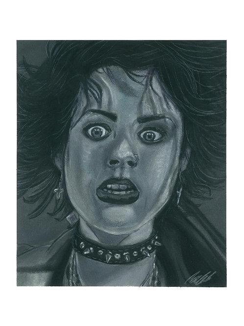 """""""Nancy"""" art print"""