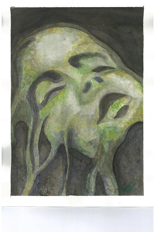 """Mourning"" art print"