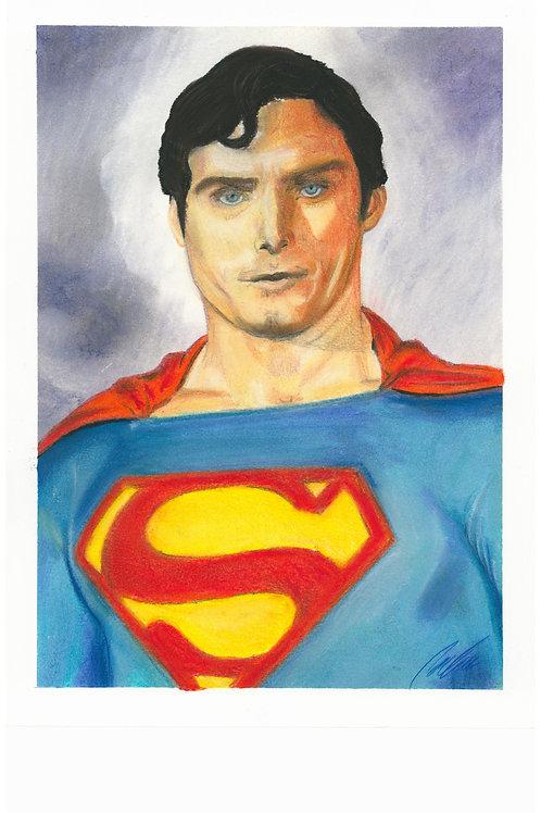"""Superman"" Art print"