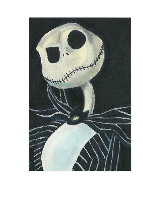 """""""Jack Skellington"""" art print"""