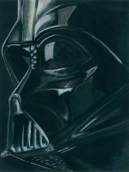 """Darth Vader"" art print"