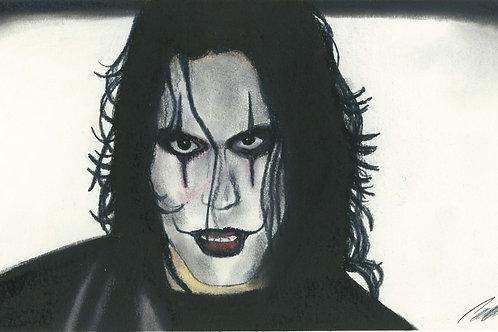 """The Crow"" art print"