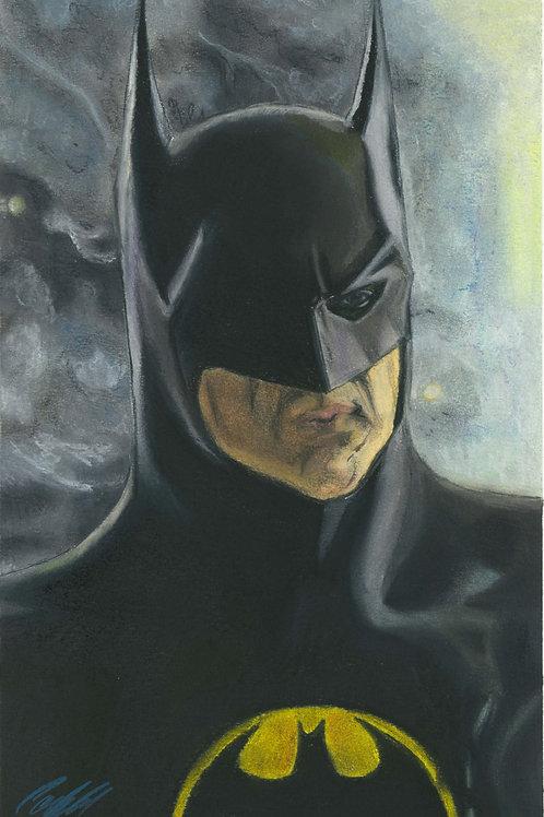 """Batman Returns"" art print"