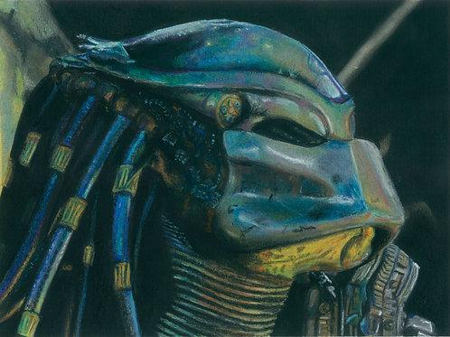 """Predator"" art print"