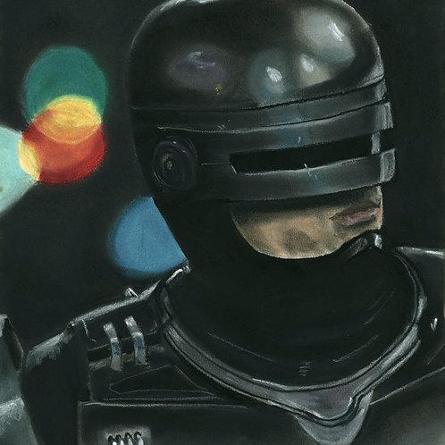 """Robocop"" art print"