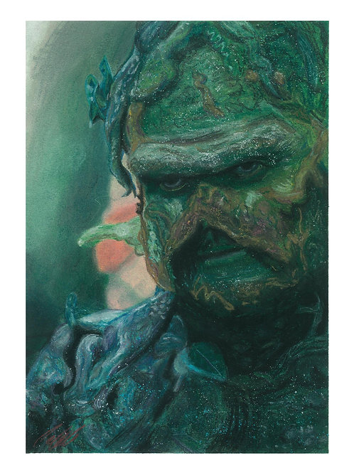 """Swamp Thing"" art print"